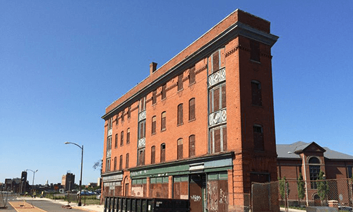 "Prominent landlord in Hartford buys historic ""Flat Iron"" building, a critical link connecting city's downtown to northern neighborhoods"