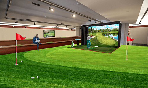 Fore! Virtual golf among new amenities planned for downtown Hartford office tower at 100 Pearl Street